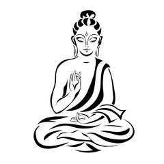 sitting Buddha 1