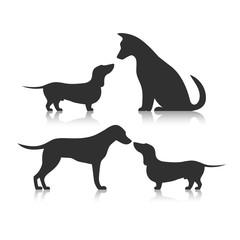 Icon friendship animals