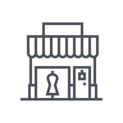 Shop, real estate icon