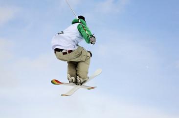 Freestyle skiing. Szczyrk. Poland