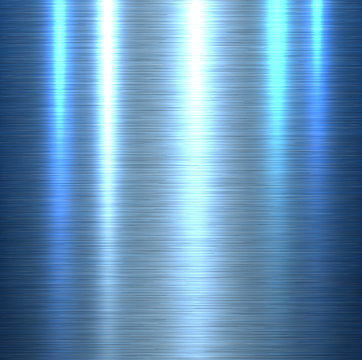 Metal texture background, shiny brushed metallic texture plate