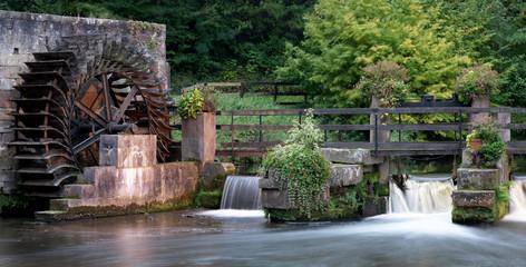 Fotorolgordijn Molens Logis Moulin de la Walk / Elsass