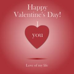 Love of my life - Happy valentine's day!