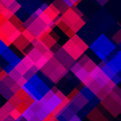 Abstract colorful background from squares. Vector illustration. Eps 10