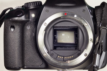 Mirror and Shutter Mechanism DSLR Camera