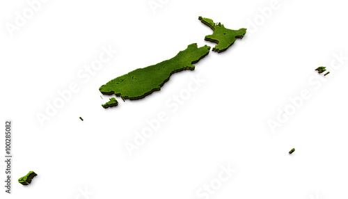 3d Map Of New Zealand.3d New Zealand Map Grass Stock Photo And Royalty Free Images On
