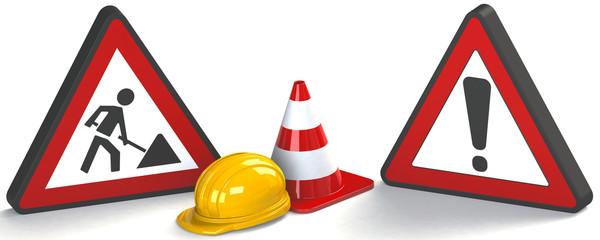 Achtung Bauarbeiten WWW