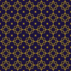 Elegant antique background image of round cross square pattern.