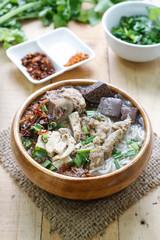 Pork Spare Ribs Rice Noodles Soup,Vietnamese Noodle Soup