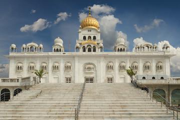 Wall Mural - Gurudwara Bangla Sahib is one of the most prominent Sikh gurdwara, in Delhi, India.