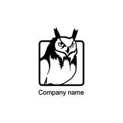 Owl logo.Vector