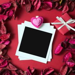 Photo frame for Valentine's theme