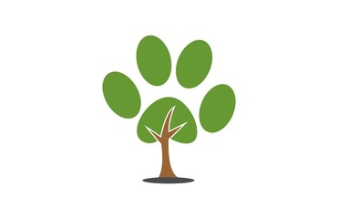 dog leg tree logo