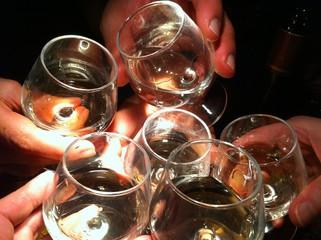 Foto op Plexiglas Alcohol tchin tchin