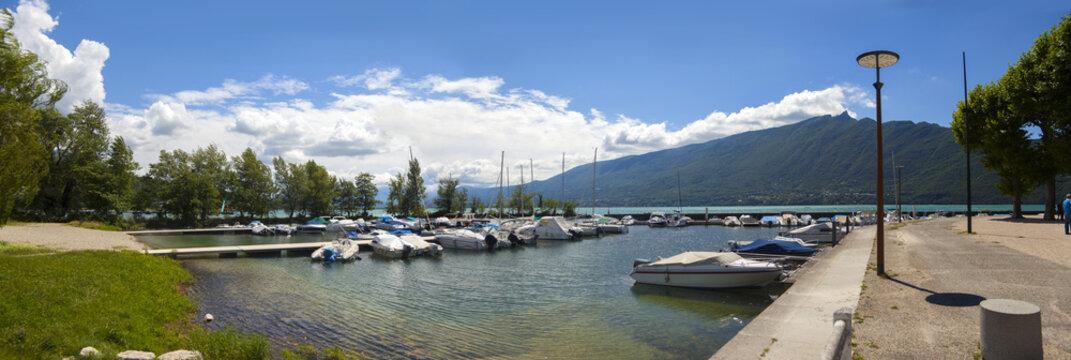 Lake Bourge, Little port Aix- les Bains