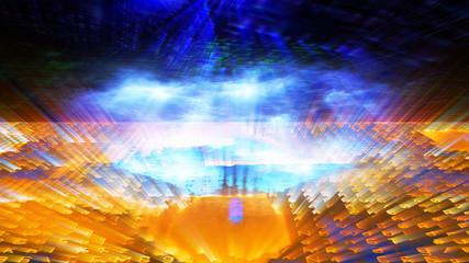 Futuristic Digital Tech Display 10699