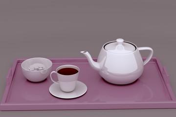 Fruit tea.