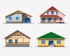 Houses 1 color