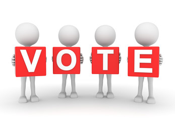 people decide how to vote