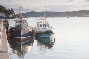 Oban Harbor, Oban, Scotland