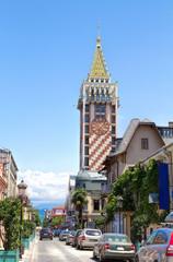 Clock Tower in the center of Batumi