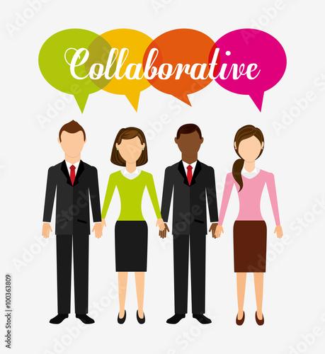 "A Collaborative Design Group: ""collaborative Concept Design "" 스톡 이미지, 로열티프리 벡터 파일"