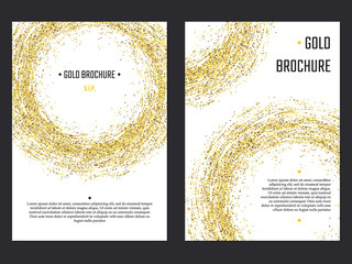 Golden Brochure  Template 1