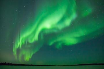 Deurstickers Noorderlicht Aurora Borealis