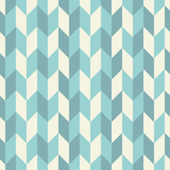 Seamless geometric pattern with zigzags. Pastel background