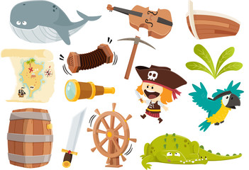 Stock de pirates