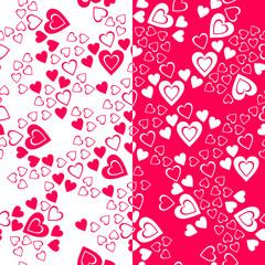 Valentine day seamless pattern. Vector illustration