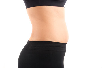 Woman tummy mom body bod