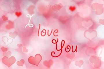 Abstract valentine Background.