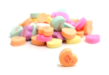 Valentines Candy Hearts
