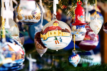 Decorative Christmas bauble or ball