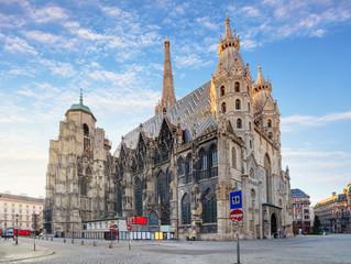 Keuken foto achterwand Wenen St. Stephan cathedral in Vienna, Austria