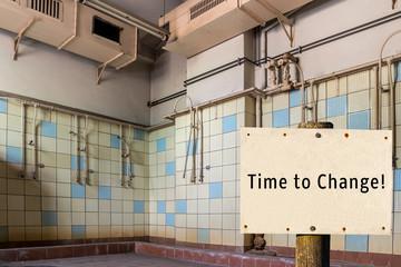 Time to Change Alte Duschen
