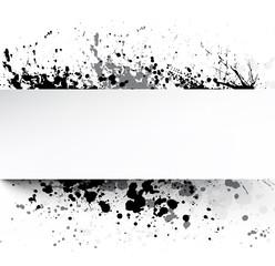 White background with grunge.