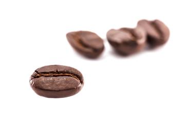 closeup roast coffee beans