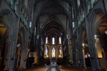 Inside Saint-Jacques church