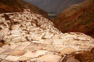Salineras de Maras – Die Salzterrassen bei Maras in Peru