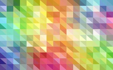 Bunt abstrakter Poly Hintergrund