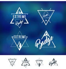 Mountain Triangle Logo Badge