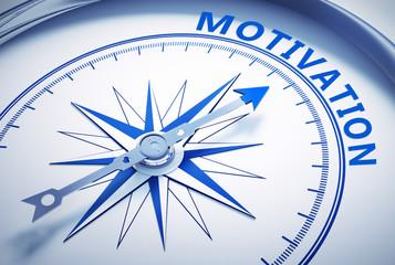 Weißer Kompass - Motivation