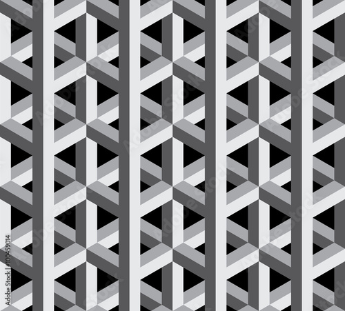 3d geometric patterns black and white marcia richards