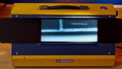 Röntgenbild einer Schweißnaht