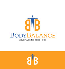 fitness or health related logo for business, organization or website