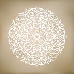 Vector Mandala Illustration