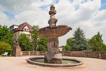 Sprinbrunnen in Bad Dürkheim an der Weinstraße