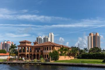 Luxury villas in the Sunny Isles Beach, Florida